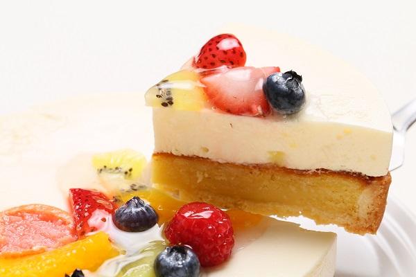 チーズのフルーツデコレーションタルト 直径15cmの画像3枚目