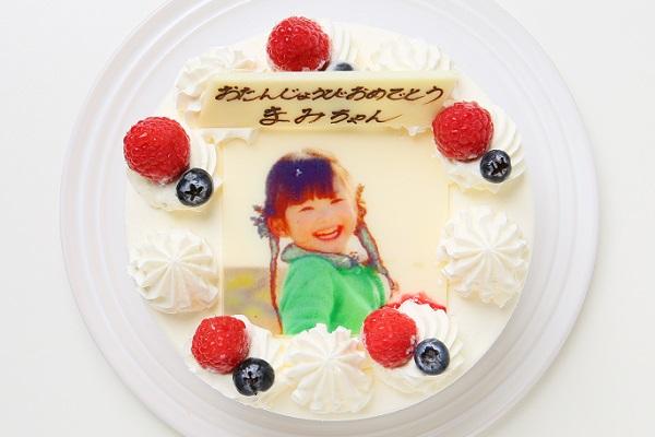 写真ケーキ(生クリーム)5号 フォトケーキの画像1枚目