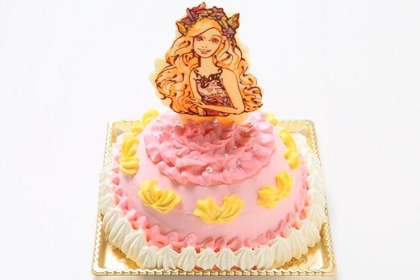 キャラクター&似顔絵 オーダードールケーキ(5号15cm)の画像2枚目