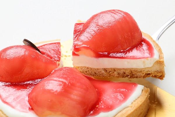 最高級洋菓子 洋なしのチーズタルト16cmの画像2枚目