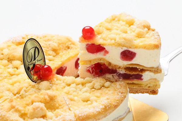 最高級洋菓子 フロッケンザーネトルテ 自家製赤すぐりジャムのショートケーキ20cmの画像2枚目