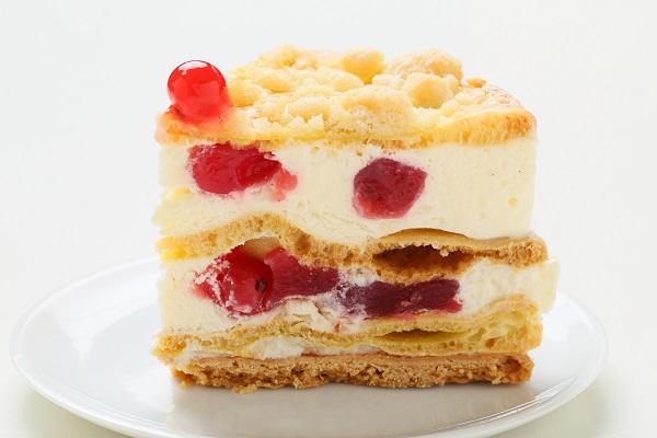 最高級洋菓子 フロッケンザーネトルテ 自家製赤すぐりジャムのショートケーキ20cmの画像3枚目