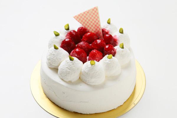 生クリームデコレーションケーキ 5号 15cmの画像1枚目
