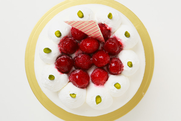 生クリームデコレーションケーキ 5号 15cmの画像2枚目