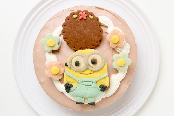 卵除去 【イラスト1体顔のみ】国産小麦粉使用 キャラクタークッキーのデコレーションケーキ4号 12cmの画像5枚目
