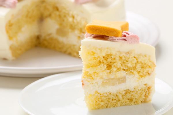 卵除去 【イラスト1体顔のみ】国産小麦粉使用 キャラクタークッキーのデコレーションケーキ4号 12cmの画像9枚目