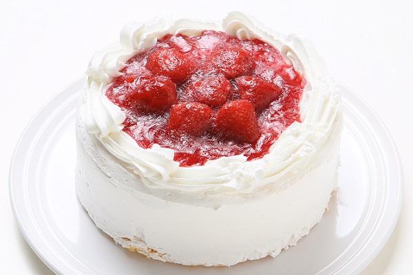 イチゴデコレーションケーキ5号