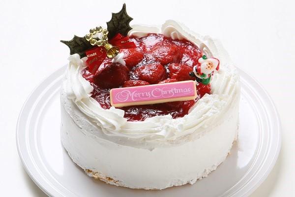 【クリスマスケーキ2016】イチゴデコレーションケーキ5号