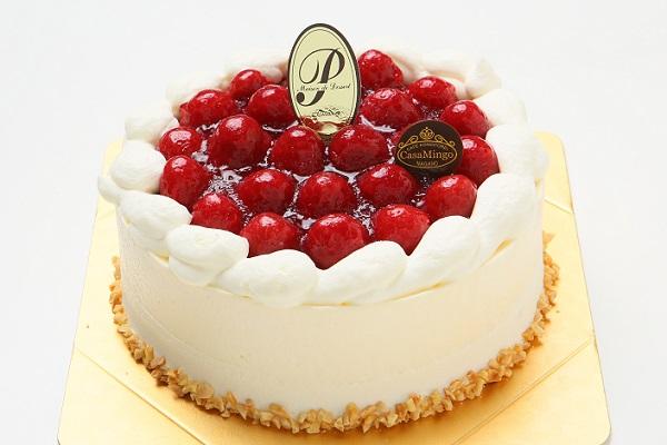 最高級洋菓子 シュス木苺レアチーズケーキ 12cmの画像5枚目