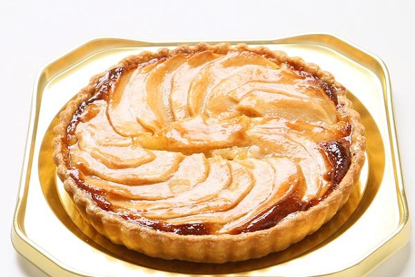 りんごタルト5号サイズ【3〜4名様用】【バースディ】【バースデーケーキ 誕生日ケーキ】の画像1枚目
