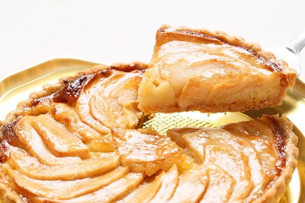 りんごタルト5号サイズ【3〜4名様用】【バースディ】【バースデーケーキ 誕生日ケーキ】の画像3枚目
