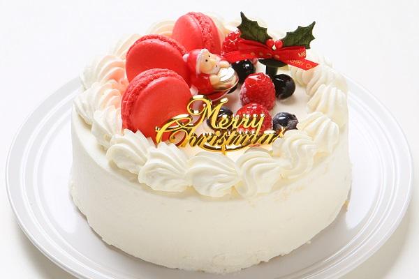 【クリスマスケーキ2016 12月10日〜お届け可能】クリスマスショートケーキ4号