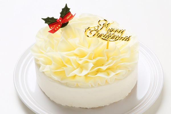 【クリスマスケーキ2016 12月10日〜お届け可能】フラワーショートブラン 4号