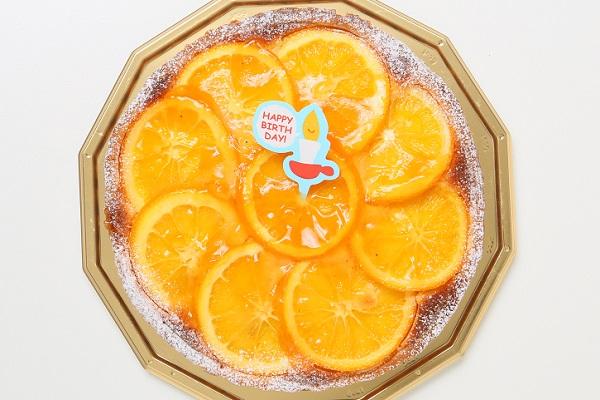 お誕生日のプレゼントにも!オレンジとアーモンドの香りのタルトオランジェ 16cm の画像2枚目