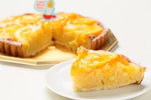 お誕生日のプレゼントにも!オレンジとアーモンドの香りのタルトオランジェ 16cm の画像5枚目