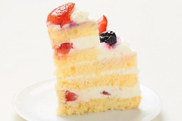 2段のケーキ  (上段:直径 約9cm / 下段:直径 約15cm)の画像4枚目