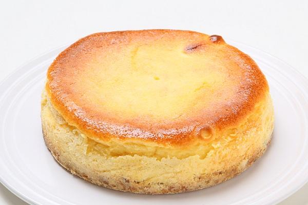 チーズのコクとレモンの爽やかさがマッチ☆ベイクドチーズケーキ5号