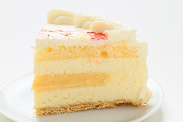 似顔絵ケーキ レアチーズケーキ 5号 15cmの画像4枚目