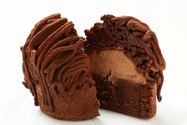 チョコレートモンブラン3個入りの画像4枚目
