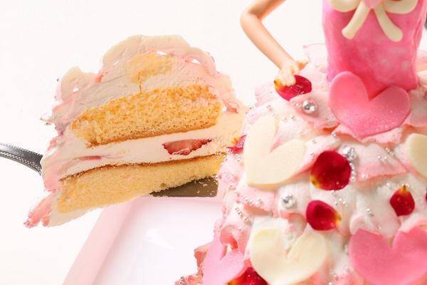 ドールケーキ 底面20cm×高さ18cmの画像5枚目