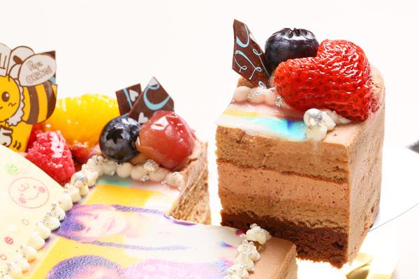生チョコフォトケーキ 13cm角の画像3枚目