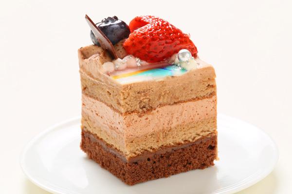 生チョコフォトケーキ 13cm角の画像4枚目