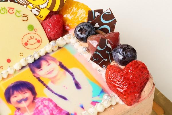 生チョコフォトケーキ 13cm角の画像6枚目