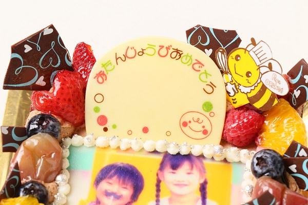 生チョコフォトケーキ 13cm角の画像7枚目