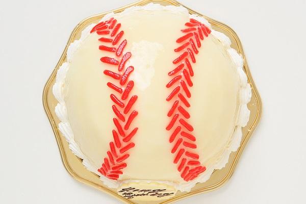立体ケーキ 野球ボール6号の画像2枚目