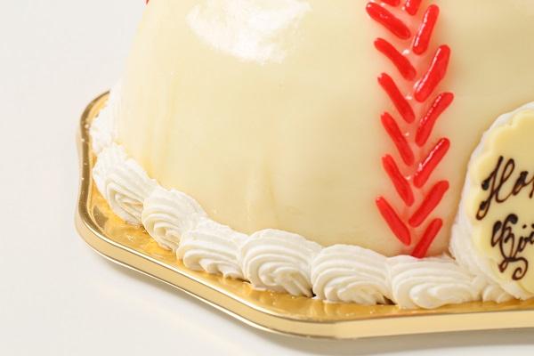 立体ケーキ 野球ボール3号の画像8枚目