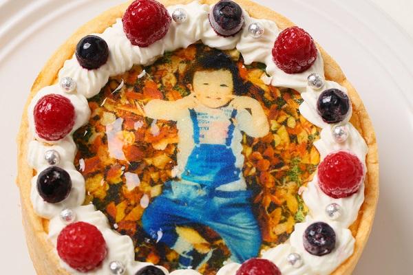 ベイクドチーズフォトケーキ 4.5号 13.5cmの画像6枚目