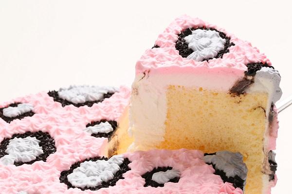 【送料無料】アニマルデコ ピンクヒョウ柄 直径18cm【smtb-t】の画像3枚目