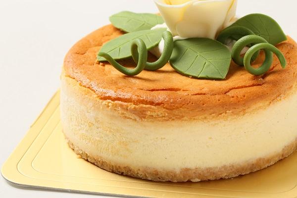 ベイクドホワイトチョコチーズケーキ 5号の画像7枚目