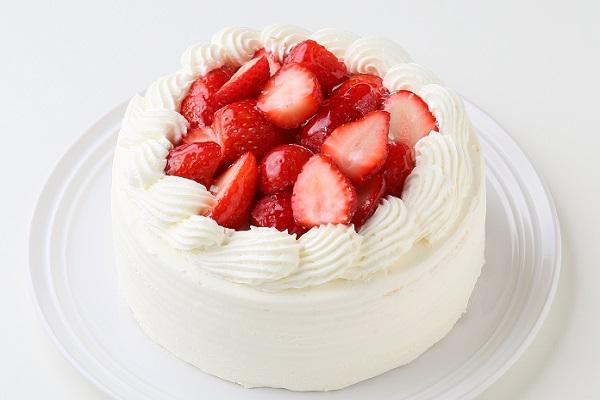 苺たっぷりショートケーキ 4号の画像1枚目