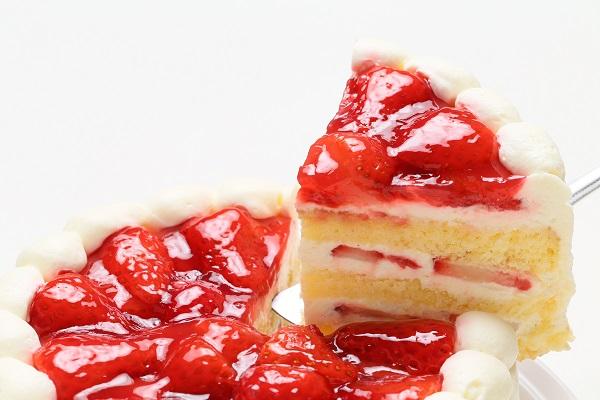 生クリーム苺ケーキ 9号 27cmの画像3枚目