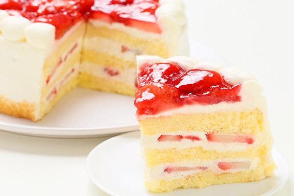 生クリーム苺ケーキ 9号 27cmの画像5枚目