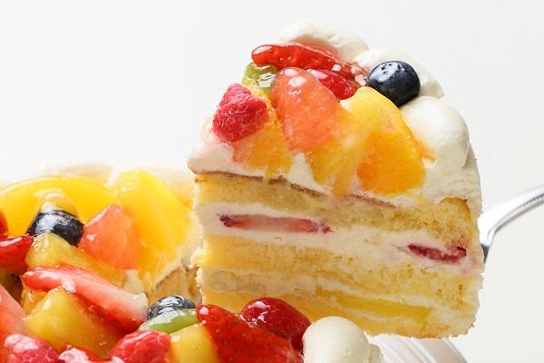 生クリームフルーツケーキ 7号 21cmの画像3枚目