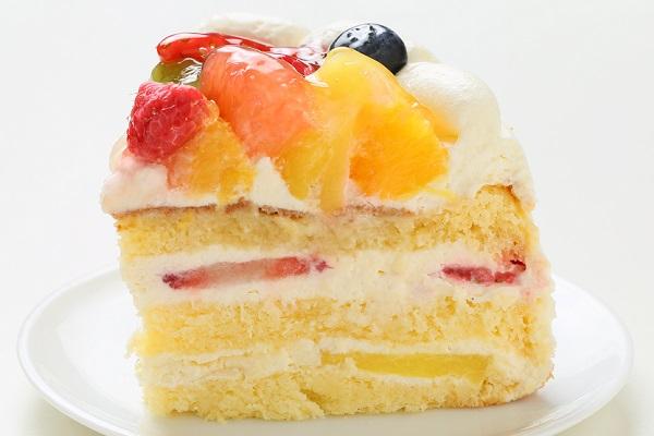 生クリームフルーツケーキ 7号 21cmの画像4枚目