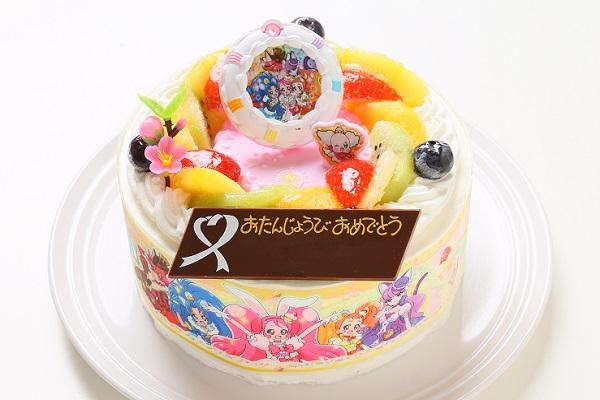 キャラデコお祝いケーキ キラキラ☆プリキュアアラモード