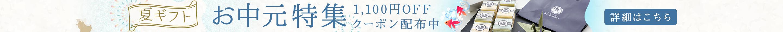 お中元フェアキャンペーン!