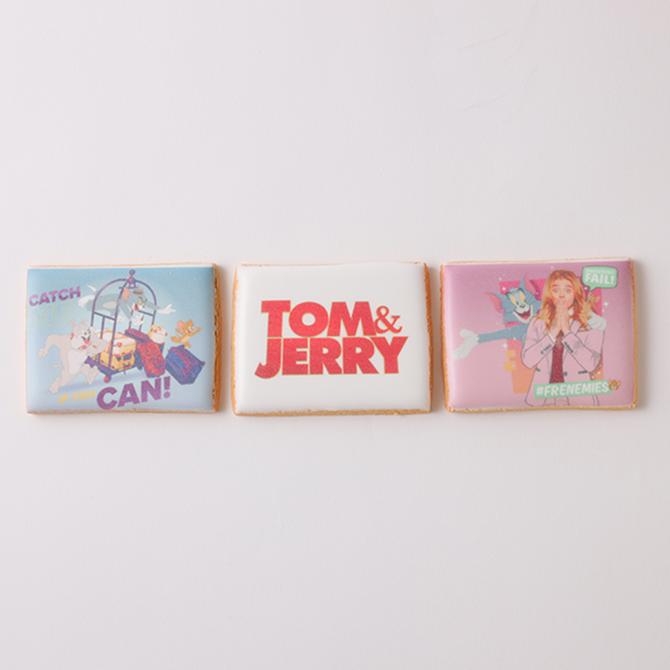【3/19実写映画公開記念!トムとジェリー】クッキー3枚セット