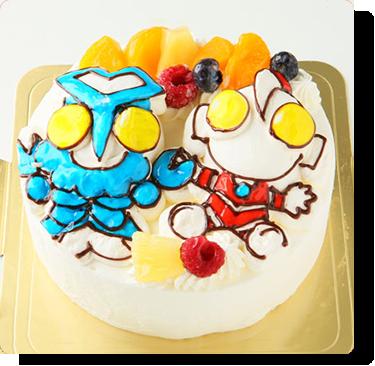 立体デコレーションケーキ