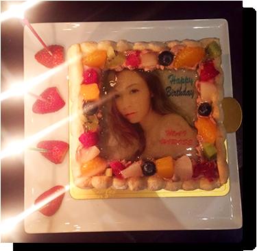 広瀬 麻伊さんの誕生日のお祝い