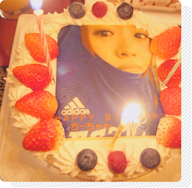 伊東亜梨沙さんの親友の誕生日のお祝い
