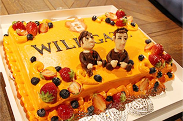 【株式会社ウィルゲート様】特注ケーキで素敵な移転パーティー