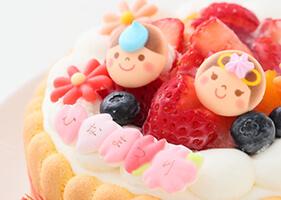 初節句に!乳幼児向けヨーグルトケーキ