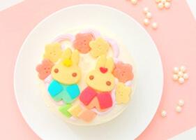 うさぎのおひなさまケーキ(卵・乳除去可能)