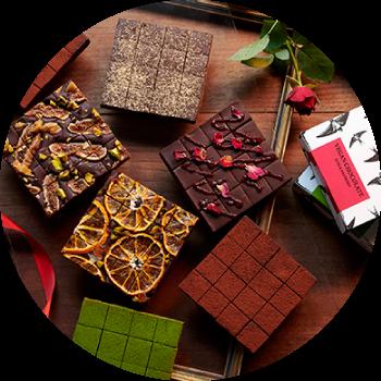 ヴィーガン生チョコレート