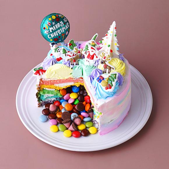 【ブランティーグル】飛び出す!ギミッククリスマスケーキ