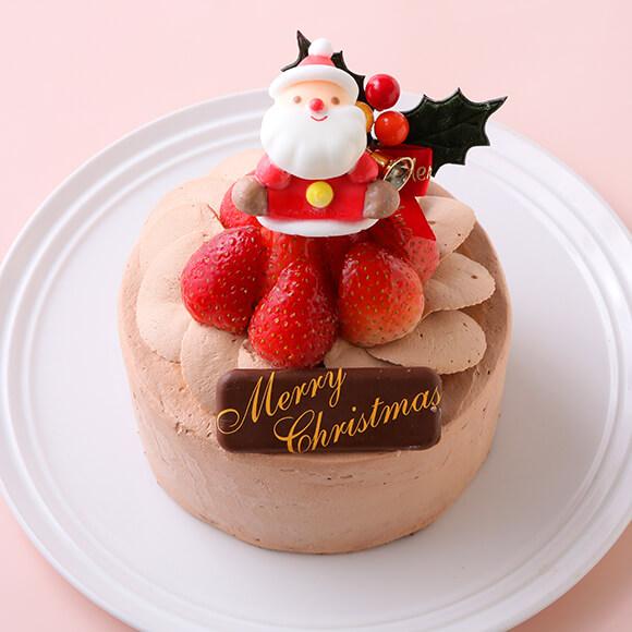【Cake.jp ORIGINAL】チョコ生デコレーションケーキ